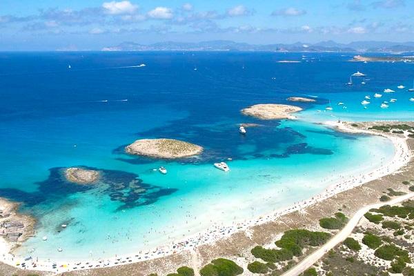 Beaches in Formentera